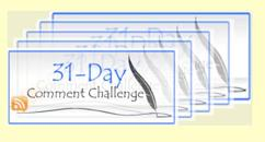 31 Day Comment Challenge Logo2