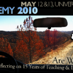 Reflections on Faculty Academy 2010 – Part One