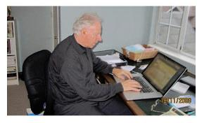 Tony Bates in his study