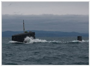 Submaring diving
