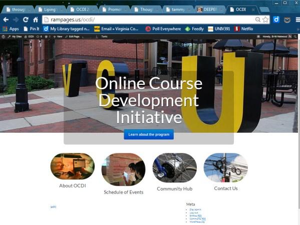 OCDI web page