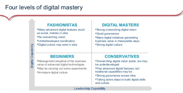 4 Levels of Digital Mastery