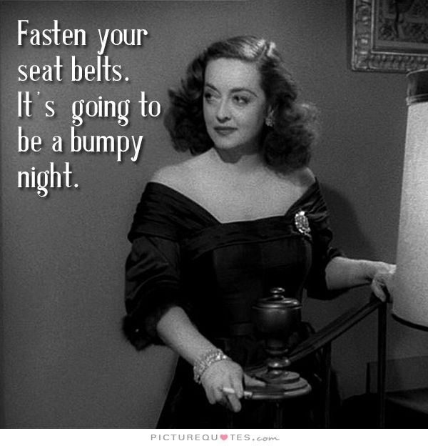 Bette Davis Fasten Your Seatbelts