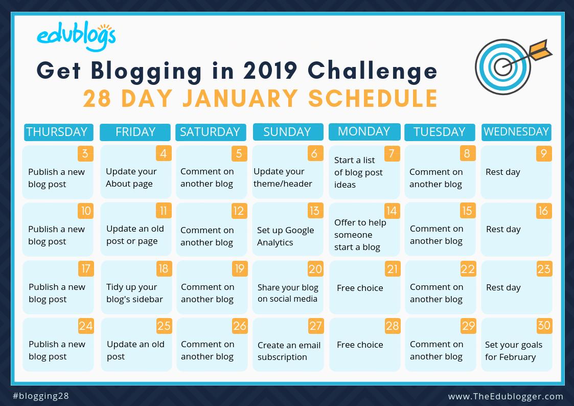28 day blog challenge